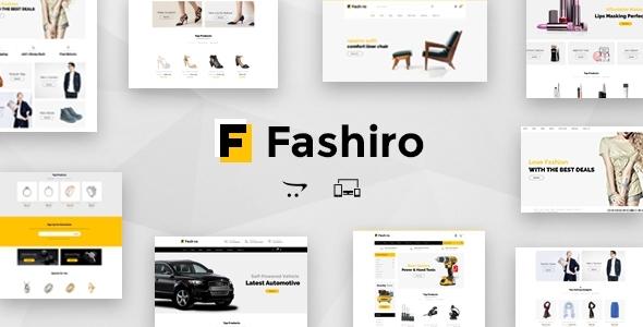 Fashiro - Multipurpose OpenCart Theme            TFx Minato Chaz