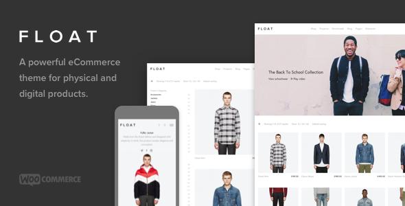 Float - Minimalist eCommerce Theme TFx WordPress Arron Clay