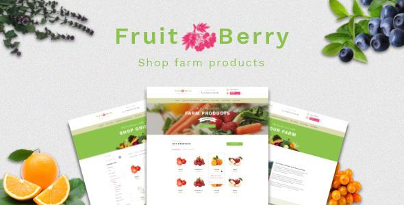 Fruit & Berry – shop farm products            TFx Sparrow Souta