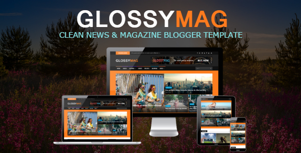 Glossy Mag News / Magazine Blogger Theme            TFx Peter Damian