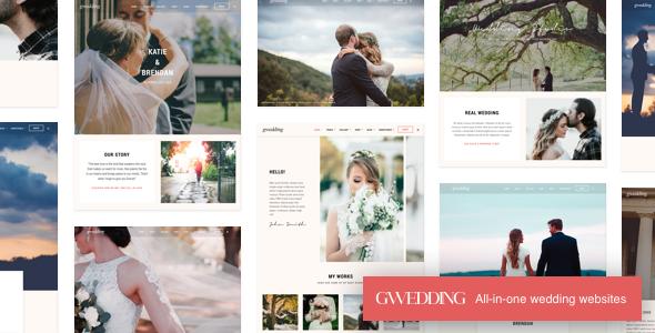 Grand Wedding | Wedding WordPress            TFx Wilkie Allen