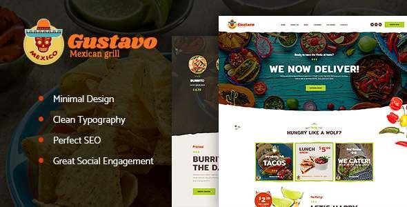 Gustavo | Mexican Grill, Bar & Restaurant            TFx Jerald Jepson