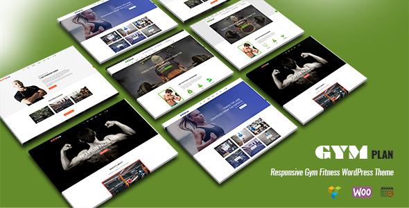 GymPlan - Responsive Gym Fitness WordPress Theme            TFx Astor Amir