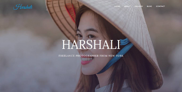 Harshali – FullScreen Photography Template TFx Fulk Jirair