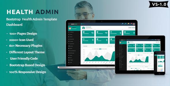 Health Admin - Bootstrap Health Admin Template Dashboard            TFx Matt Leo