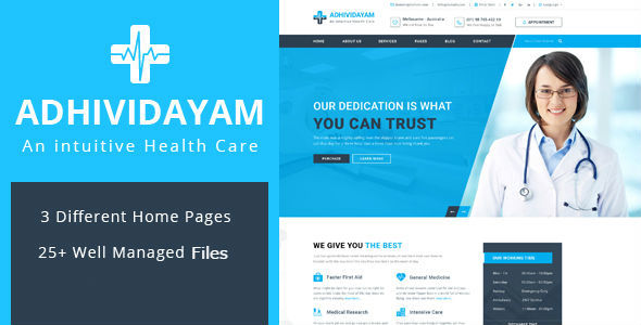 Health - Health and Medical Care TFx SiteTemplates Issac Carey