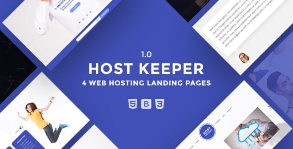 Host Keeper Hosting Landing Page            TFx Maria Grahame