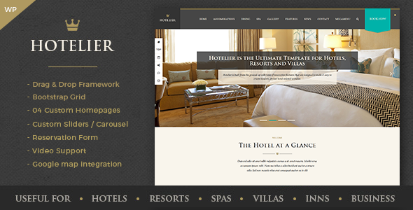 Hotelier - Hotel & Travel Booking WordPress Themes TFx Hinata Jolyon
