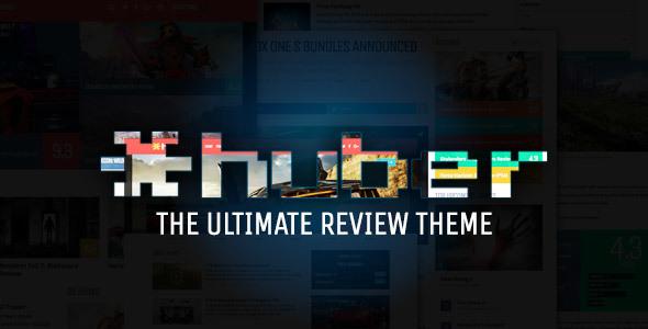 Huber: Multi-Purpose Review Theme            TFx Brent Kent
