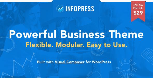 Infopress Multi-Purpose Business WordPress Theme TFx Sigmund Merle