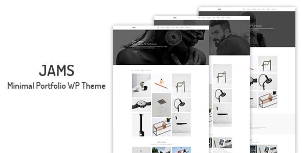 Jams - Minimal Portfolio WordPress Theme            TFx Kynaston Tyler