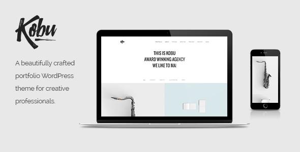 Kobu - Portfolio WordPress Theme            TFx Jermaine Lake