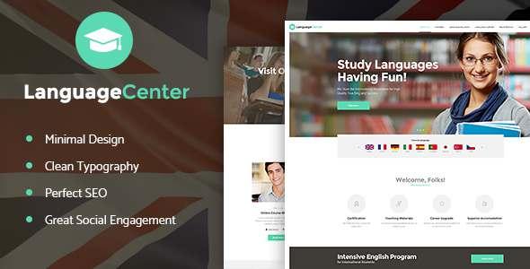 Language Center & Online School WP Theme            TFx Caedmon Augustine