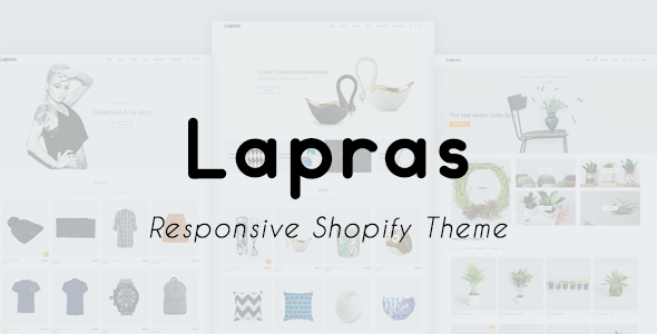 Lapras Responsive Shopify Theme            TFx Brook Leighton
