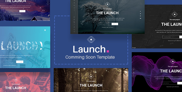 Launch - Coming Soon / Under Construction Template            TFx Wally Shaquille