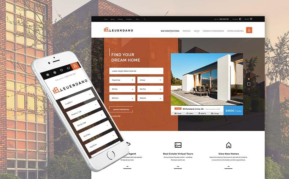 Leuendano - Real Estate Agency Responsive PrestaShop Theme TMT Karen Charley