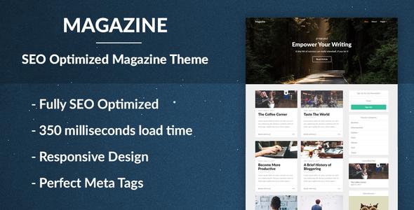 Magazine - SEO Optimized News and Newspaper Theme            TFx Ned Aputsiaq