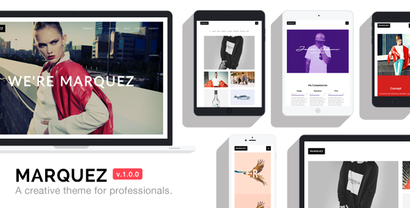 Marquez - A Creative WordPress Theme for Creatives and Agencies TFx Kisecawchuck Bagus