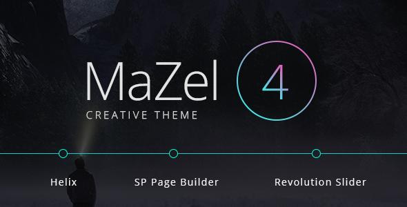 Mazel4 - Creative Multi-Purpose Joomla Theme            TFx Graeme Zander