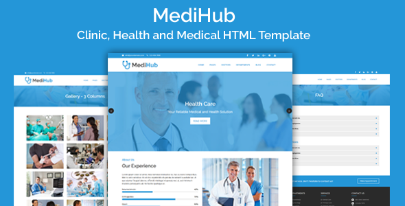 MediHub - Clinic, Health and Medical HTML Template            TFx Bentley Erik
