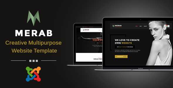 Merab - Creative Multipurpose Joomla Template            TFx Garen Rhett