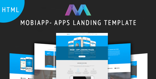 MobiAPP -  App Landing Page            TFx Gerald Wickaninnish