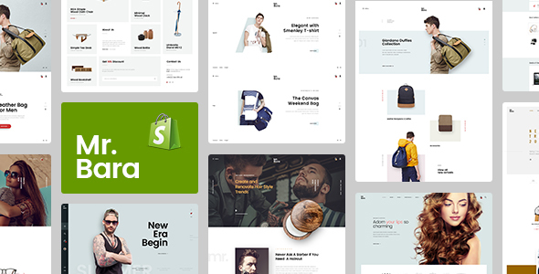 Mr.Bara – Responsive Ecommerce Shopify Template            TFx Dylan Tecumseh