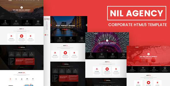 Nil Agency - Corporate HTML5 Template TFx Ambrose Cary