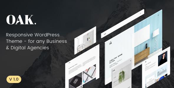 OAK - Creative Portfolio WordPress Theme            TFx Wenceslas Lonny