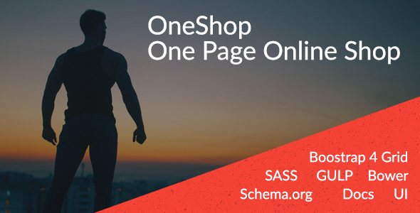 OneShop - One Page Online Shop            TFx Kenzie Cal