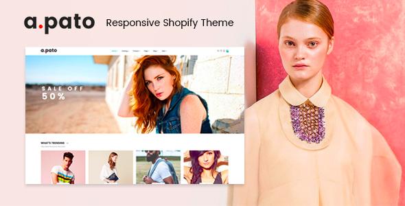 Pato - Responsive Shopify Theme TFx Shopify Brad Putu