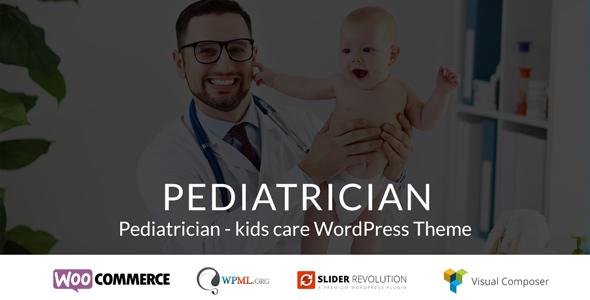 Pediatrician – kids care WordPress Theme TFx Alexander Dee