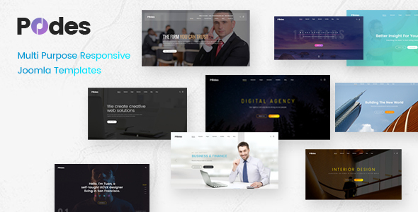 Podes – Multi-purpose Responsive Joomla Template TFx Jim Arif