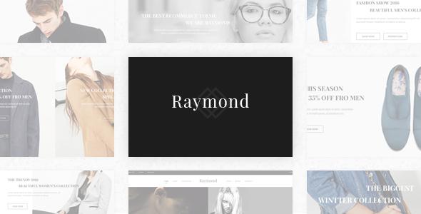 Raymond - Responsive eCommerce Prestashop Template            TFx Jolyon Cecil