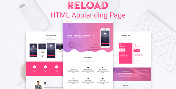 Reload- Saas,Apps,Marketing HTML Template            TFx Talbot Christopher