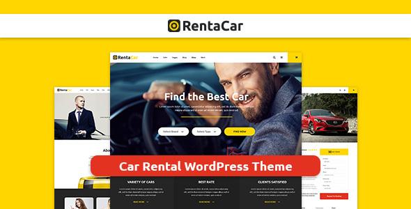 Rentacar - Car Rental / Listing WordPress Theme            TFx Weldon Rastus