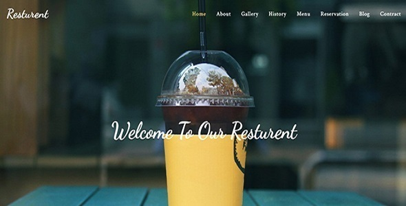 Resturant  Template TFx SiteTemplates Gall Francis