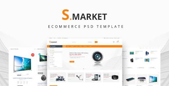 S.market - Ecommerce PSD Template            TFx Yuuki Dyson