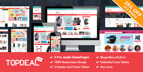 SM TopDeal - Responsive and Customizable Magento 2.1.x Theme            TFx Alfred Benj