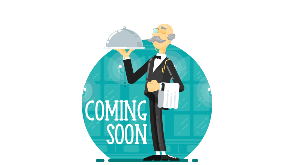 SVG Coming SoonUnder Construction Creative Page - Waiter            TFx Ohannes Muhamad