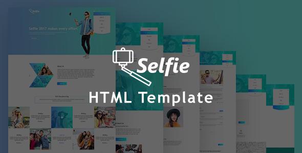Selfy Multipurposes Photography HTML5 Responsive Template            TFx Melvin Ivor