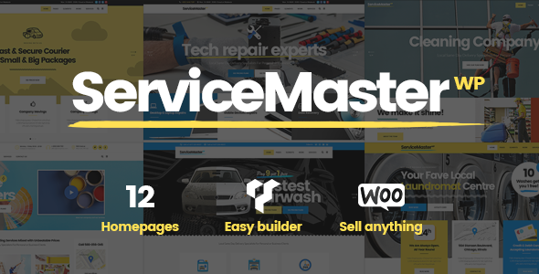Service Master - A Multi-concept Theme for Service Businesses            TFx Duke Webster