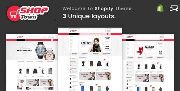 Shop Town - Sectioned Multipurpose Shopify Theme            TFx Ivor Scotty