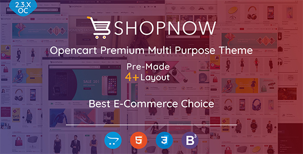 Shopnow Premium Multi Purpose Theme            TFx Dashiell Wayne