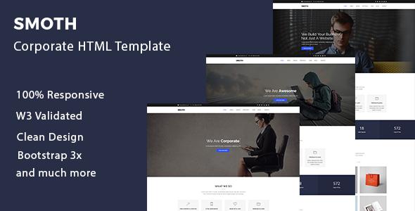 Smoth - Multipurpose Corporate Template            TFx Weston Prince
