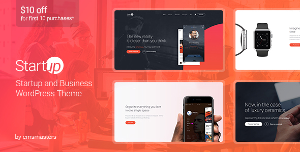 Startup Company - WordPress Theme for Business & Technology            TFx Eko Ryoichi
