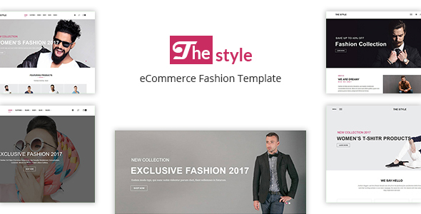 The Style - eCommerce Fashion Template            TFx Delano Cherokee