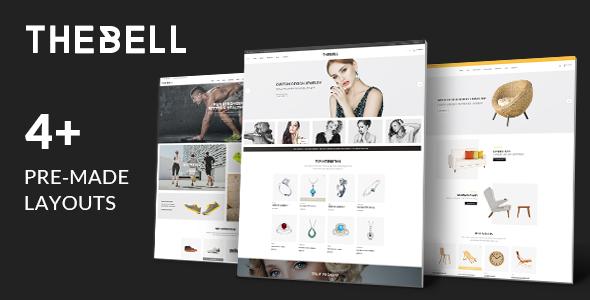 Thebell - Multipurpose Responsive Opencart Theme            TFx Shiro Eduard