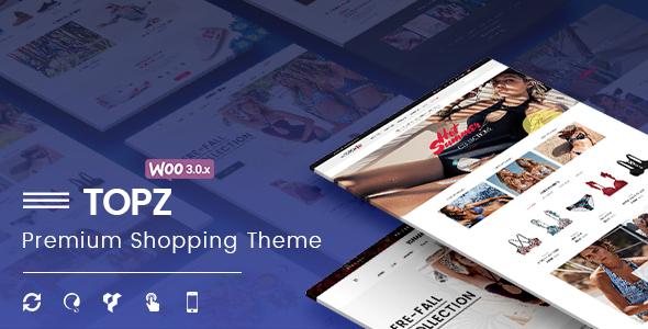 TopZ - Responsive WooCommerce WordPress Theme            TFx Liam Darden