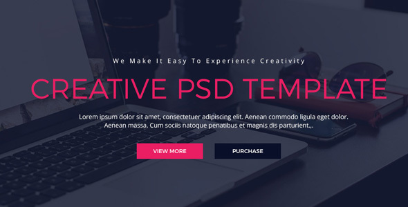 Upollo Creative PSD Template            TFx Meredith Ramsey